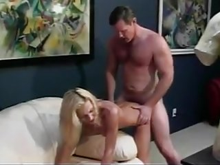 Hot chick titty and cunt pounded