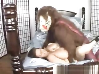 BBW Maria Morre Red Riding Hood Fucked by Wolf