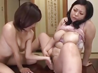 Shiho Terashima - Stepmother and daughter lesbian life (part 2)