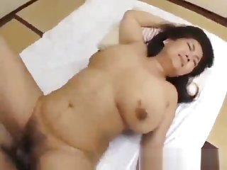 Fat Mature Woman Getting Her Pussy Fucked By a Young Guy