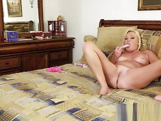Blonde Goddess Paris's Masterful Jerk Off Instruction