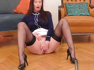 Pov british milf railed