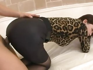Asian Girl pantyhose bottom tights sexy
