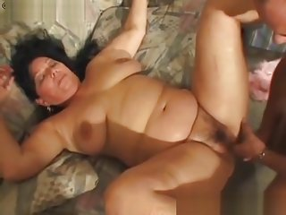 Fat granny fucked fast and hard