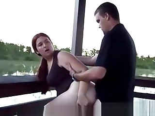 Fucking My Chubby Wife Outside By The Lake