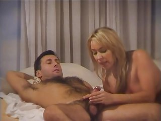 Blonde Milf Teaches A Young Stud The Ways Of Sex